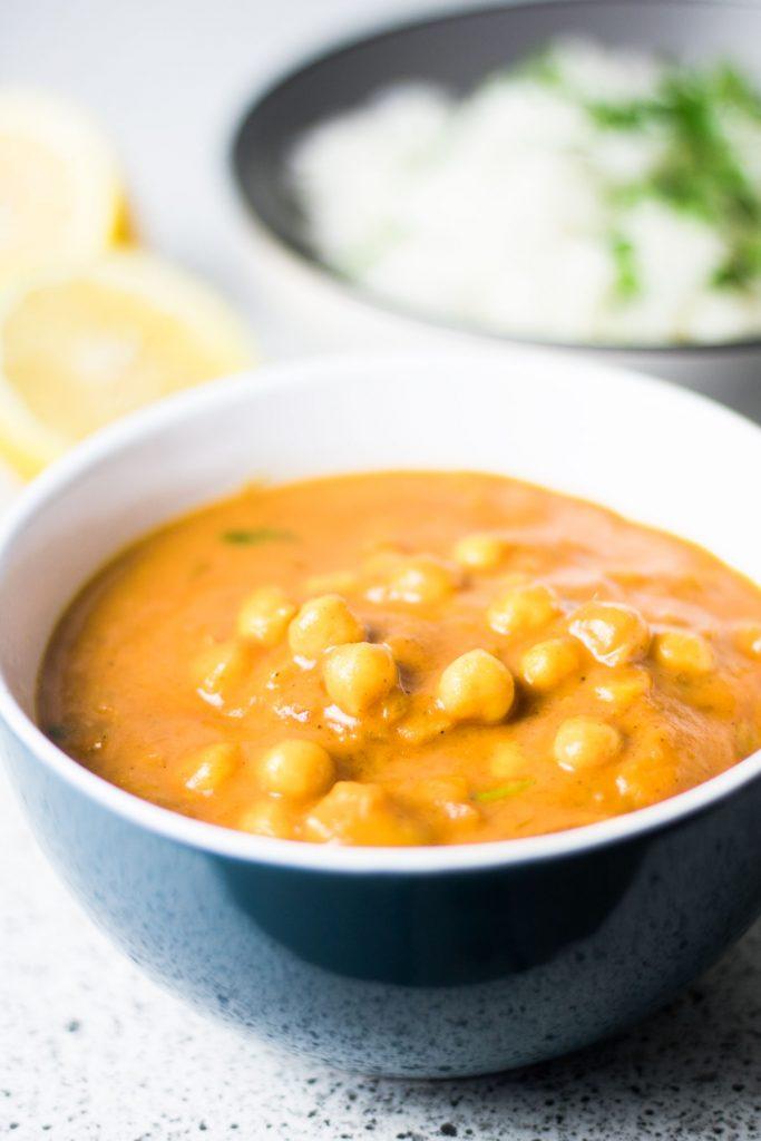 Mango-Curry-mit-Kichererbsen