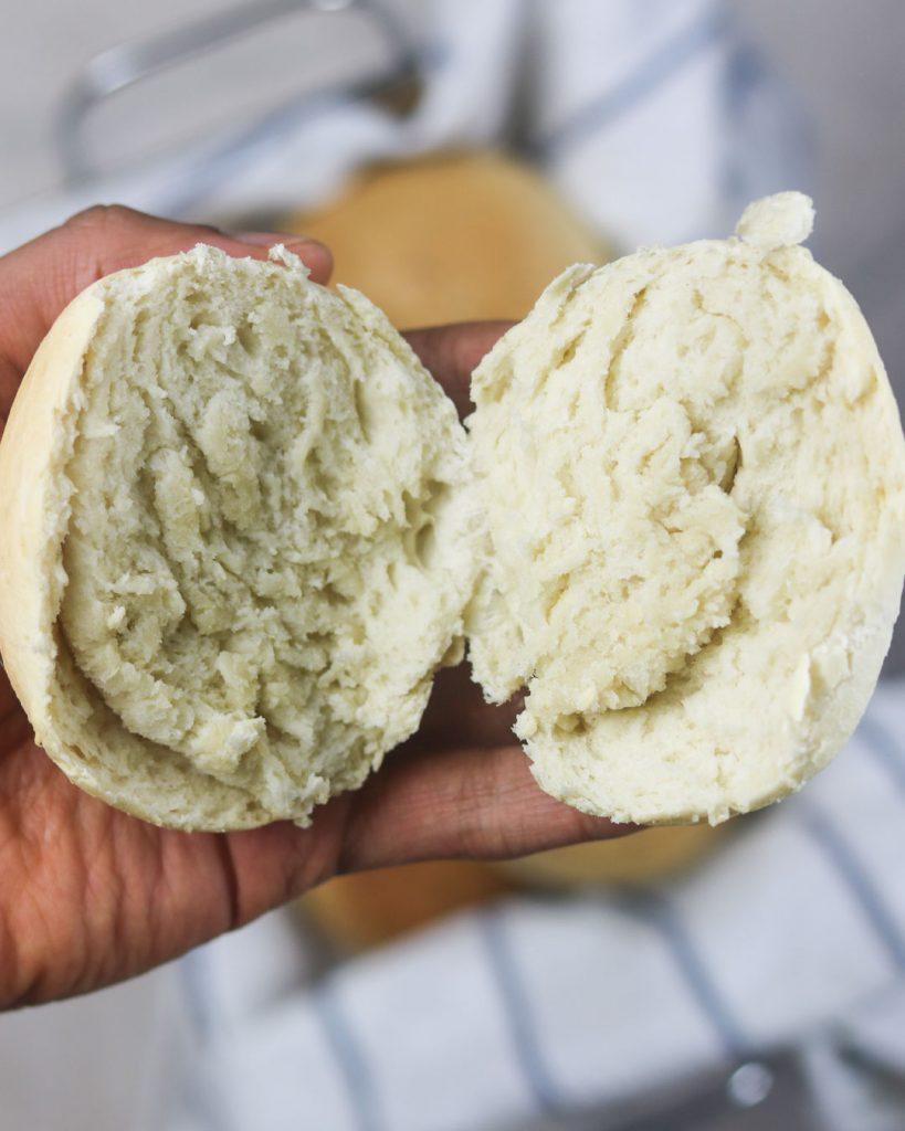 Vegane Burgerbrötchen selber machen