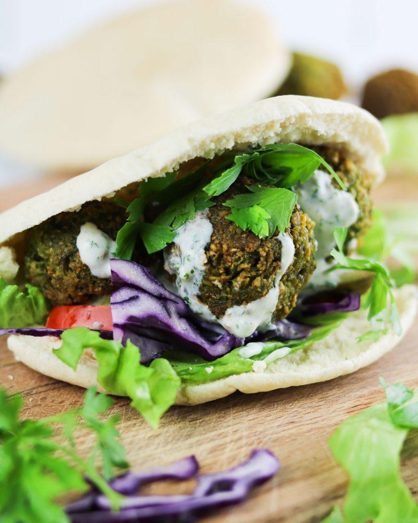 falafel rezept vegan