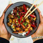 Kung Pao Cashew Tofu