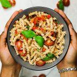 Sommerliches Pasta-Gericht