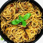 Spaghetti al tonno vegan